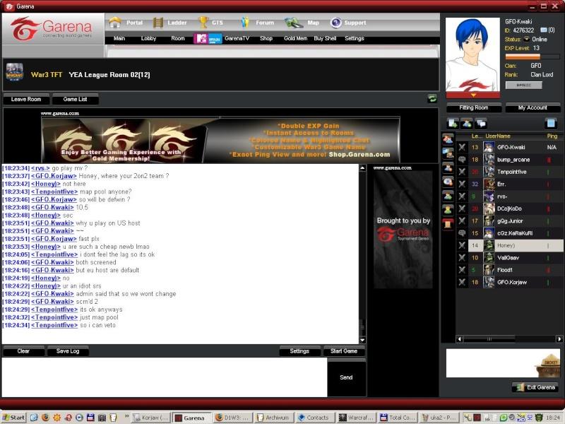D1W3: GFO vs UKA Uka310