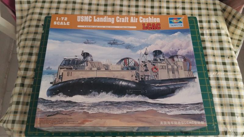 US Navy Landing Craft Air Cushion (LCAC)   1-72  Trumpeter 20160318
