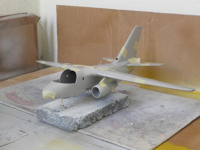 Work in progress S-3A VIKING 1-48 Italeri P1030420