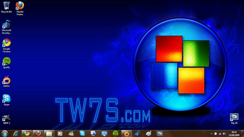 Desktop Screenshots. Window10