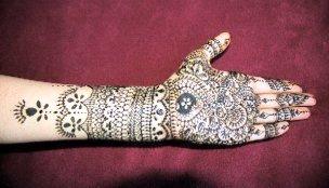mehndi style Bridal10