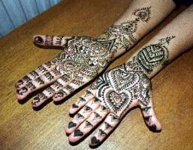 mehndi style Bridal11
