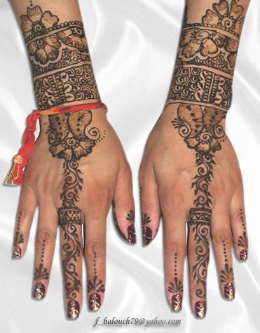 henna style for hand and feet Henna111