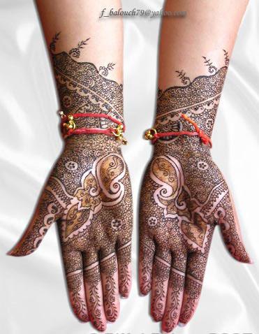 henna style for hand and feet Henna112