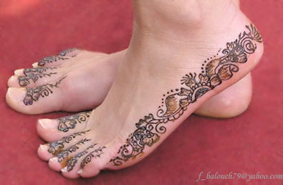 henna style for hand and feet Henna113