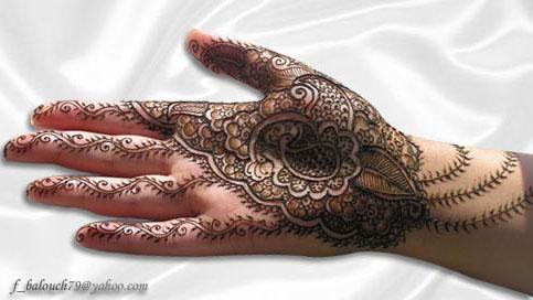henna style for hand and feet Henna114