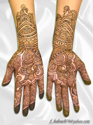 henna style for full hand Henna510
