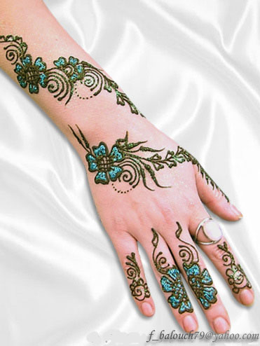 henna style for hand and feet Henna610