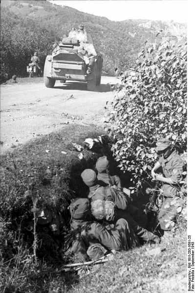 Guérilla et contre-guérilla dans les Balkans [Dossier photo] Albani10