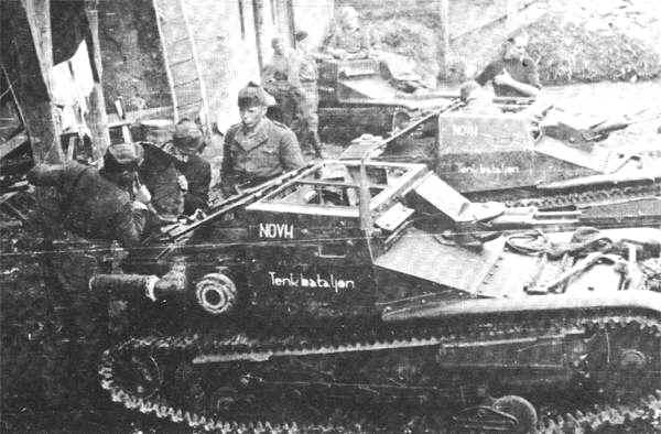 Guérilla et contre-guérilla dans les Balkans [Dossier photo] Fiat-110