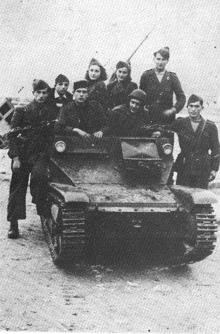 Guérilla et contre-guérilla dans les Balkans [Dossier photo] Fiat-610