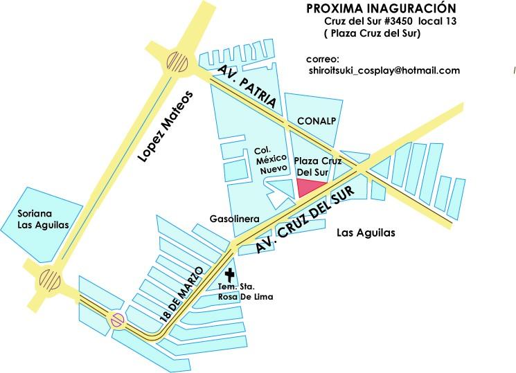 Mapa del local Mapaaa10