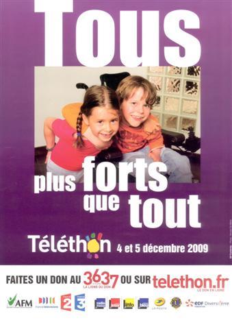 TELETHON 2009 Affich16