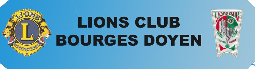 LIONS CLUB BOURGES DOYEN - Portail Banier12