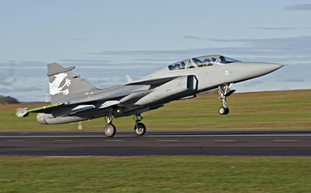 Saab: présentation du futur Gripen Yourfi12