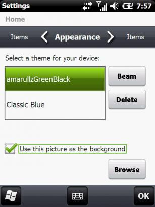 Theme pour Windows Mobile 6.5.1 Ss810