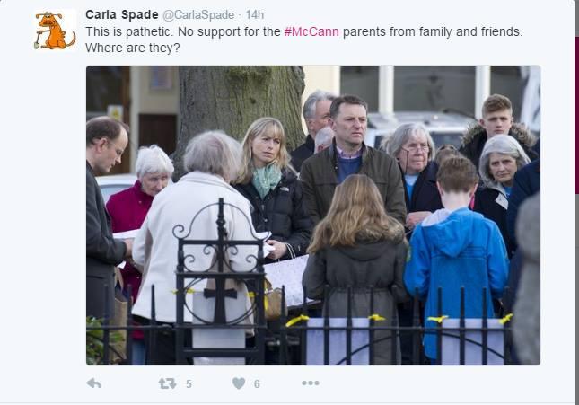 The McCanns prayer vigil in Rothley 3rd May 2016 910