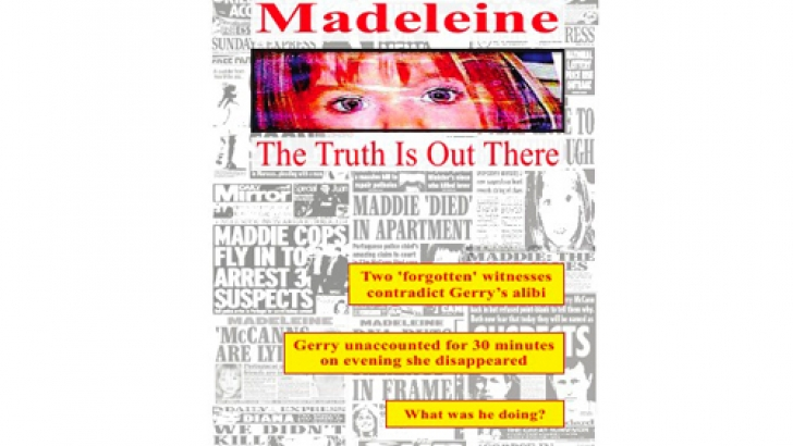 'Maddie: The Truth is Out There' - New Maddie book claims to have nugget police have been waiting for Book_010