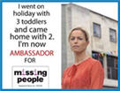 The removal of Kate McCann as ambassador of missing people Missin10