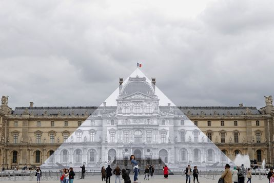 Les 30 ans de la pyramide du Louvre Louvre14