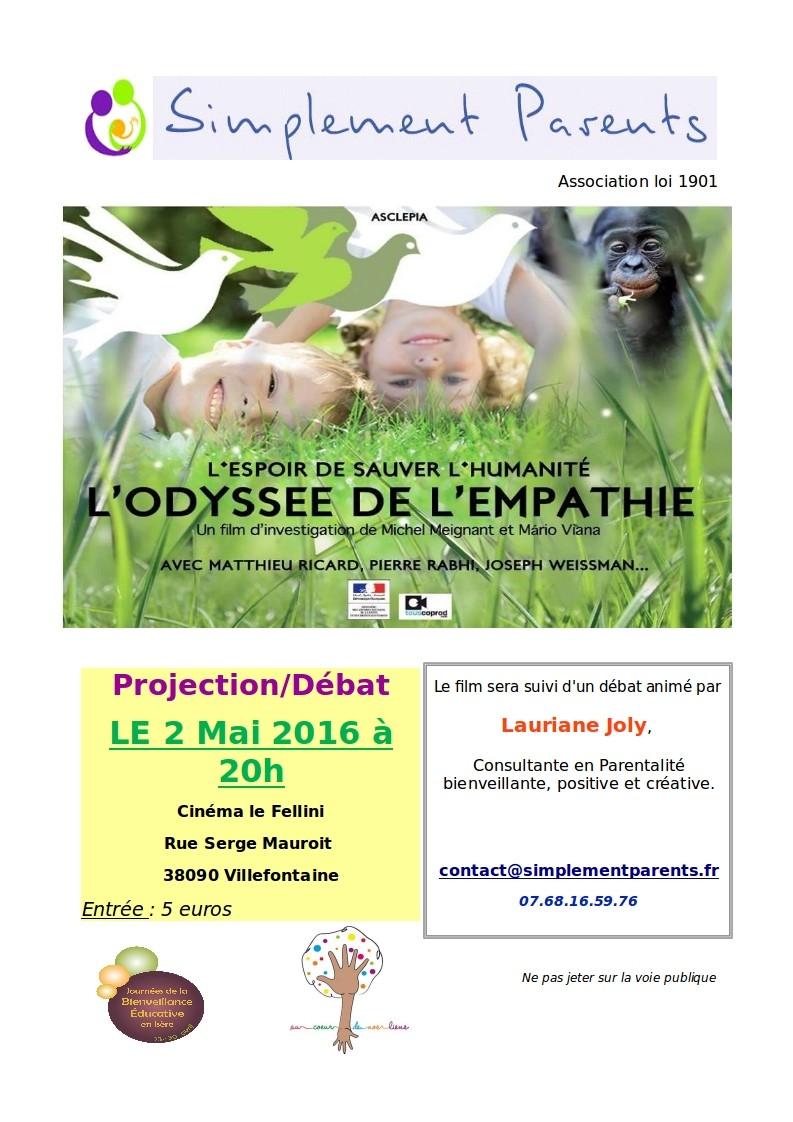 L'odyssée de l'empathie Projection/Débat 2mai2011