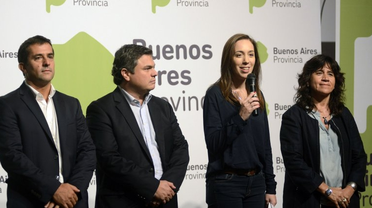 La gobernadora de la Provincia de Buenos Aires anunció aumentos 00114
