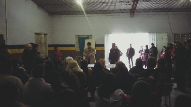 General Rodríguez: El Intendente Darío Kubar se reunió con vecinos. 00125