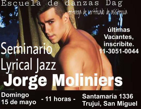 Falta un día menos, ya llega Jorge Moliniers a San Miguel... vos llegas también? Aviso_22