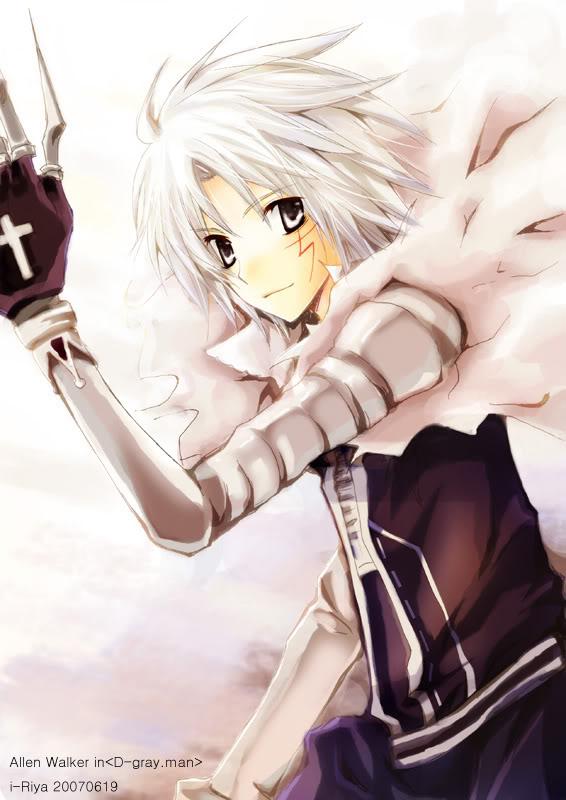 Allen walker. This is me ! ~ D_gray10