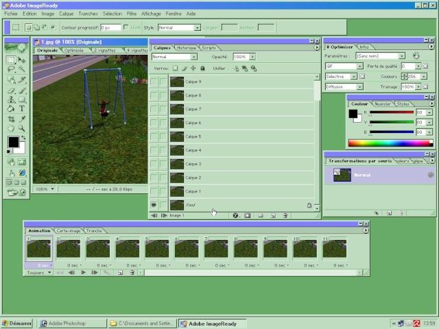[Apprenti] (Photoshop 7.0) Gif animé Screen45