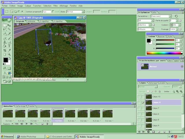 [Apprenti] (Photoshop 7.0) Gif animé Screen50