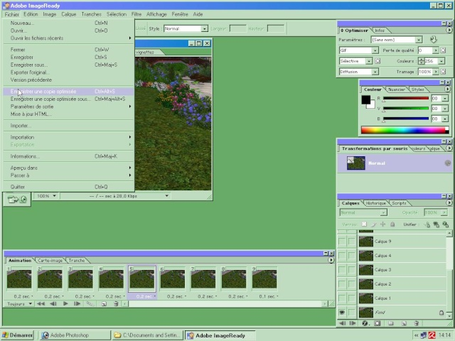 [Apprenti] (Photoshop 7.0) Gif animé Screen51