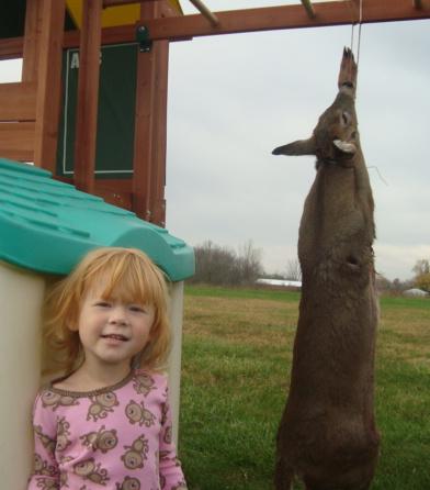 Look what my son got! Deer13