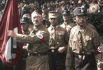 """Histoire : Jacques Vecker a vu """"Hitler et les apôtres du mal"""" Film-110"""