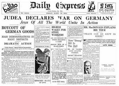 """Histoire : Jacques Vecker a vu """"Hitler et les apôtres du mal"""" Judead10"""