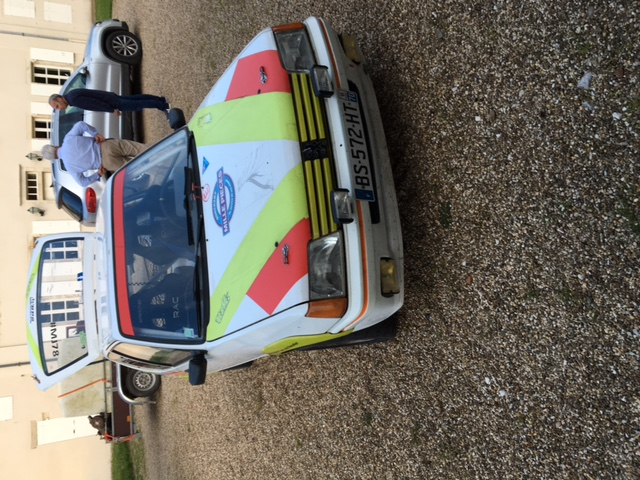 [maxren]  Rallye - 1300 - Blanche - 1988 R410
