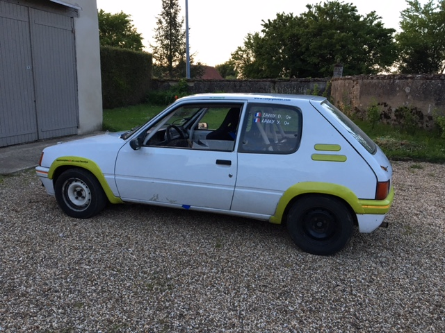 [maxren]  Rallye - 1300 - Blanche - 1988 R610