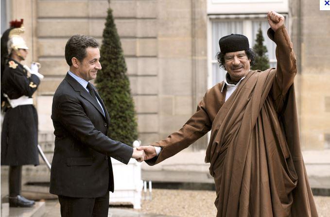 Sarkozy ou la bipolarité - Page 2 Kadhaf10