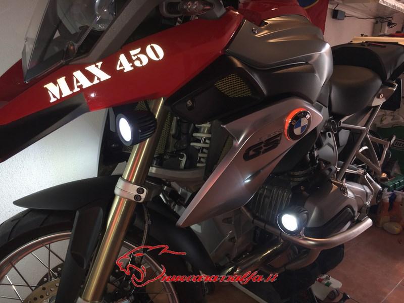 BMW K50 R1200GS LC Faretti aggiuntivi, montaggio M.Y.2014 Max45050