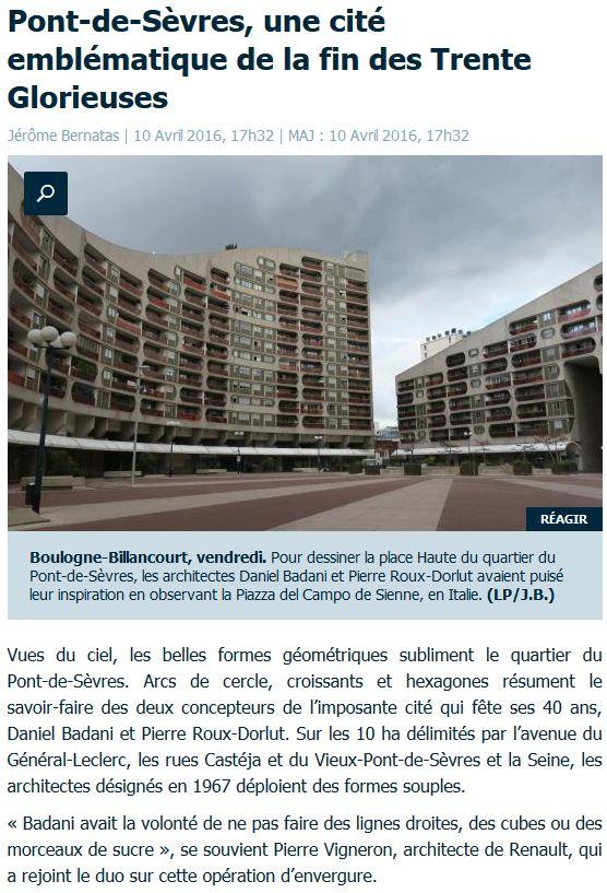 Histoire du Quartier du Pont de Sèvres Clipbo73