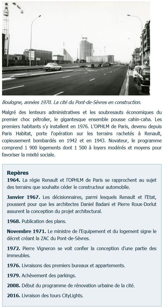 Histoire du Quartier du Pont de Sèvres Clipbo74