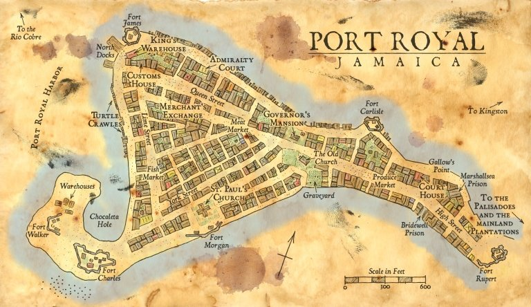 Gossips & lies from Port Royal Royal10