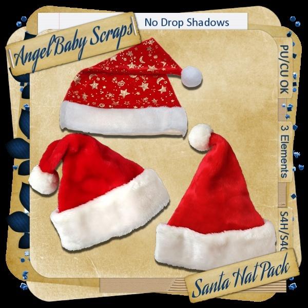 Santa Hat Pack _previ16