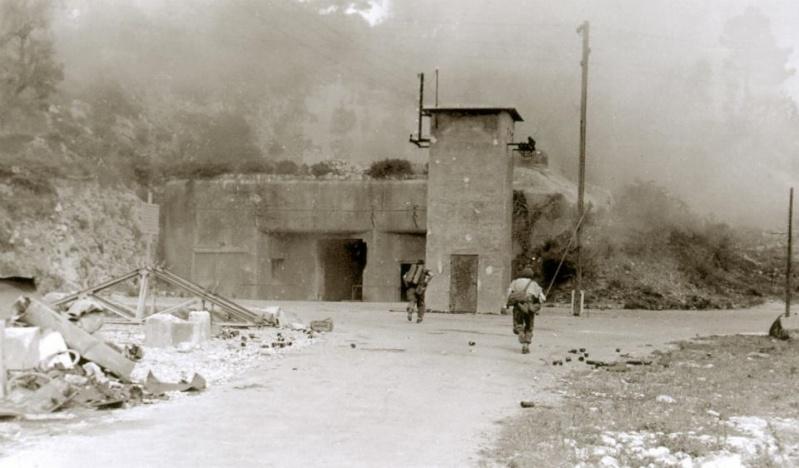 Gros-ouvrage de Roquebrune-Cornillat, entrainement sections d'assaut 1ère DFL 10626510