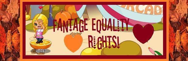 Fantage Equality Group!