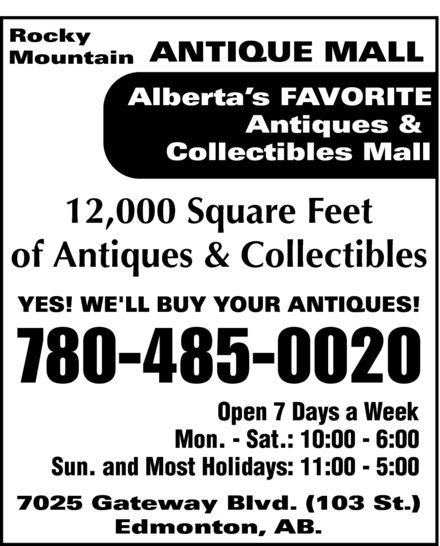 Rocky Mountain Antique Mall Ltd. 13836610