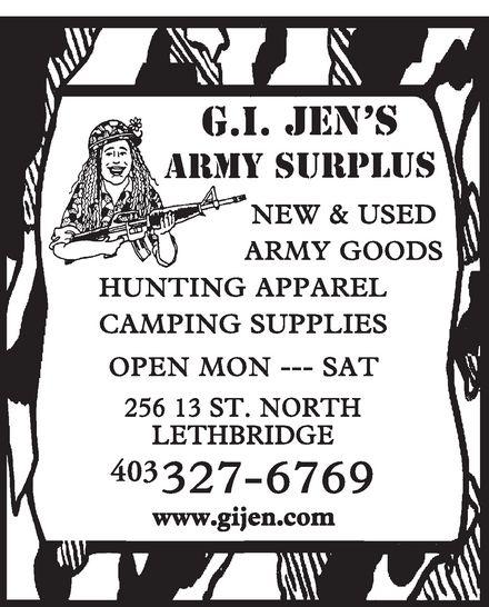 G.I. Jen's Army Surplus 13849010