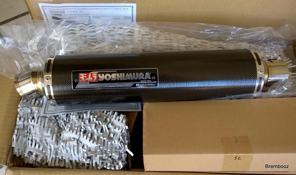 Echappements GSXR 750 03710
