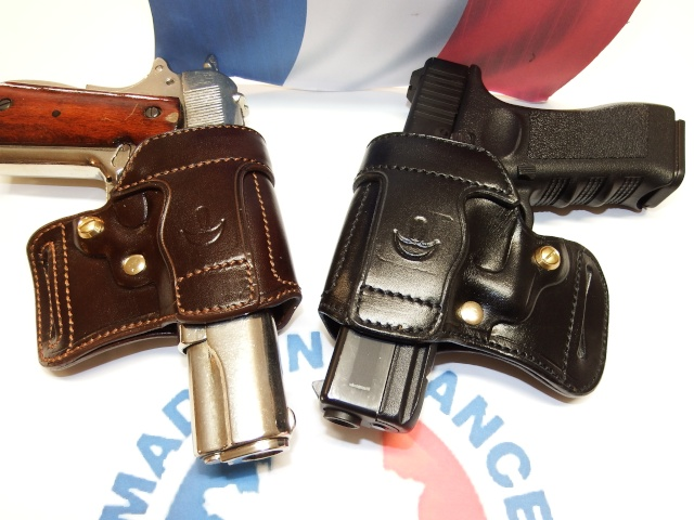 "HOLSTER AMBIDEXTRE : le ""PRACTIC"" by SLYE Dscf3839"