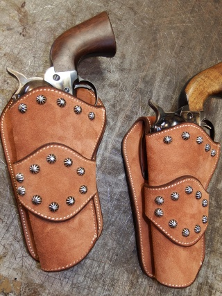 """COWBOY ACTION SHOOTING """"ROUGH OUT"""" HOLSTER by SLYE Dscf3925"""